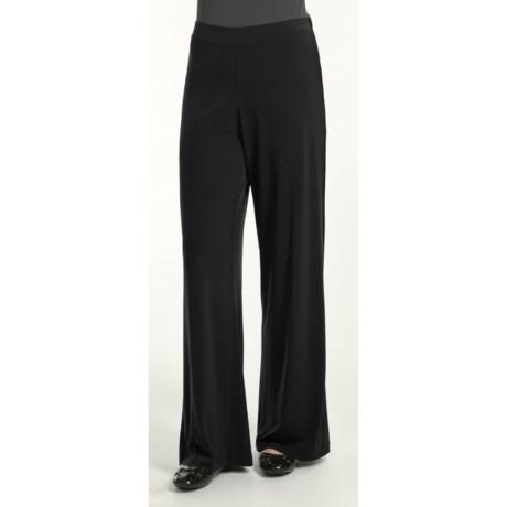 Diamond Tea Voyage Pants - Flat Front (For Women)