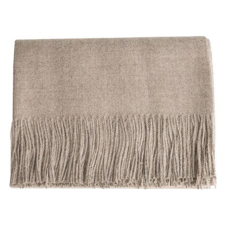DownTown Baby Alpaca Throw Blanket - 51x79""