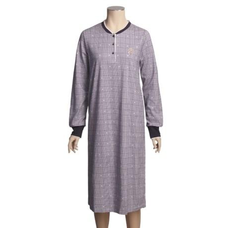 Calida Overnight Big Shirt - Long Sleeve (For Women)