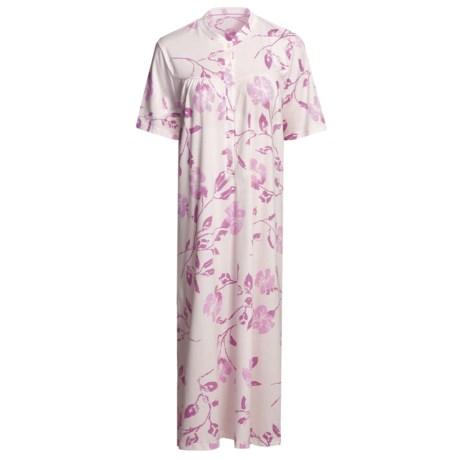 Calida Heavy Cotton Nightshirt - Short Sleeve (For Women)