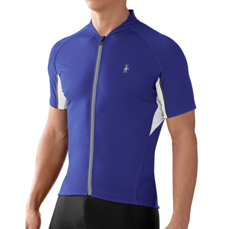 SmartWool Flagstaff Cycling Jersey - Merino Wool, Short Sleeve (For Men)