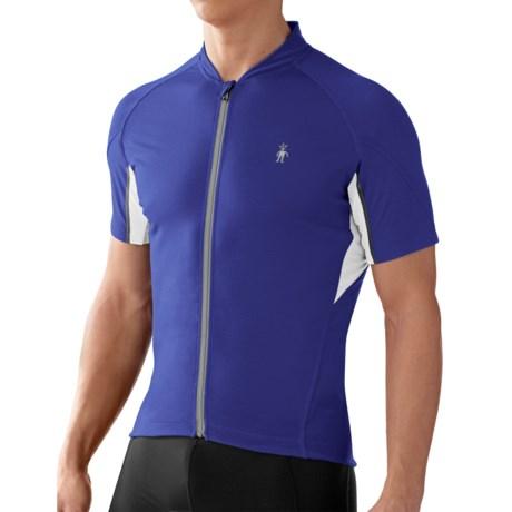 SmartWool Flagstaff Cycling Jersey - Merino Wool, Short Sleeve (For Men)