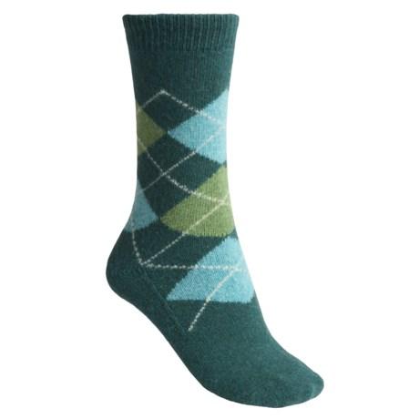 b.ella Carlino Argyle Socks - Virgin Wool, Crew (For Women)