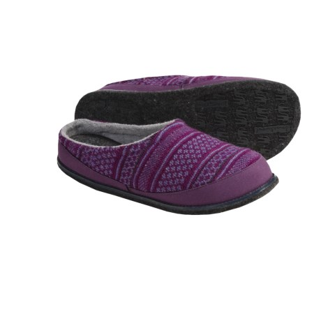 SmartWool Fritter Free Heel Slippers - Merino Wool (For Women)