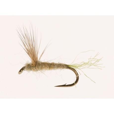 Black's Flies Sparkle Dun Dry Flies - Dozen