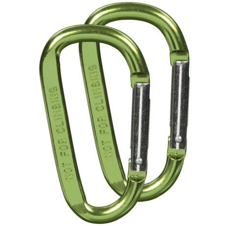 Grizzly Grip Utility Carabiner - 2-Pack