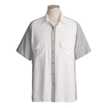 Nat Nast Jazz Man Camp Shirt - Silk, Short Sleeve (For Men)