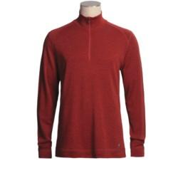 SmartWool NTS Base Layer Top - Zip Neck, Merino Wool, Midweight, Long Sleeve (For Men)