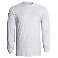 Hanes Tagless Pocket T-Shirt - Long Sleeve (For Men and Women)