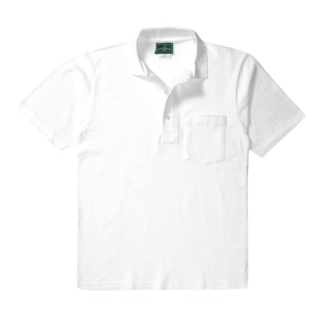 Outer Banks Essential Polo Shirt - Cotton Pique, Short Sleeve (For Men)