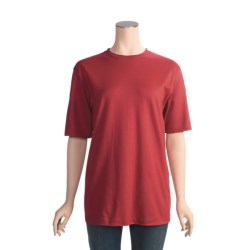 Hanes Beefy Silver T-Shirt - Elbow Sleeve (For Men and Women)