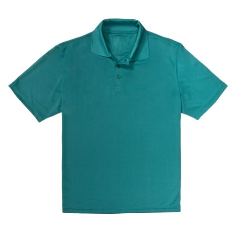 Lightweight Polo Shirt - Moisture-Wicking, Short Sleeve (For Men)