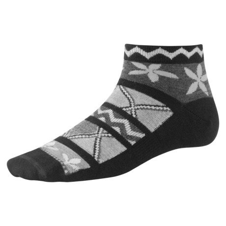 SmartWool Radiant Ribbons Socks - Merino Wool, Ankle (For Women)