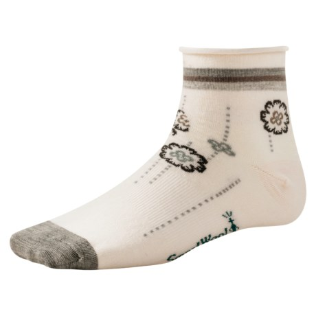 SmartWool Dotted Flower Socks - Merino Wool (For Women)
