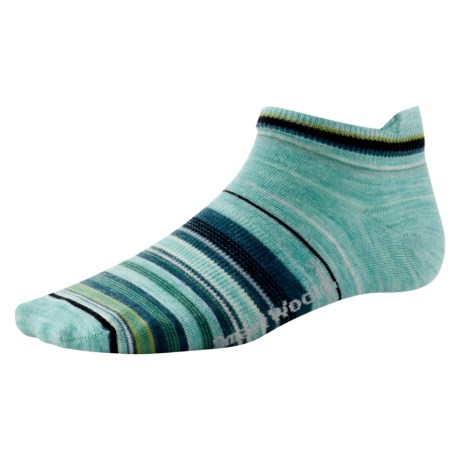 SmartWool Sidekick Stripe Socks - Merino Wool, Ankle (For Women)