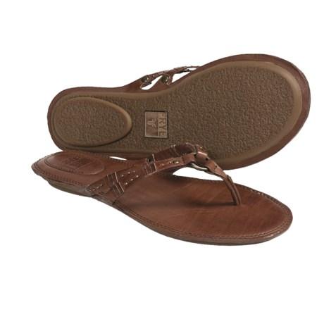 Frye Alessia Artisanal Flip-Flop Sandals - Leather (For Women)