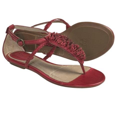 Frye Laurel Flower T-Strap Sandals - Leather (For Women)