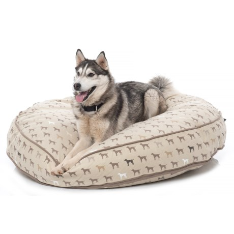 Humane Society Mono Multi-Dog Jumbo Round Dog Bed - 48""