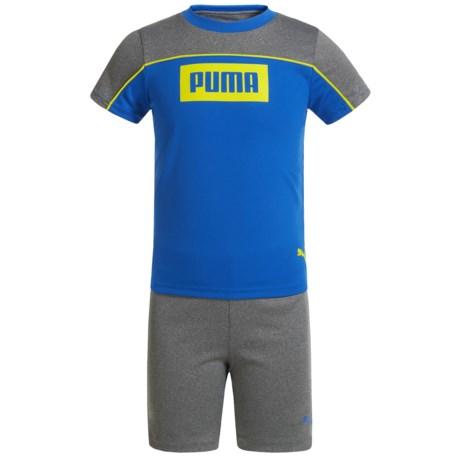 Puma Ramos T-Shirt and Shorts Set - Short Sleeve (For Toddler Boys)