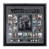 "Luxe West ""Game of Thrones"" Autographed Cast Collage"