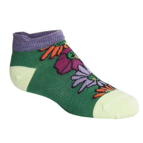SmartWool Honey Buzz Socks - Merino Wool, Below-the-Ankle (For Kids)