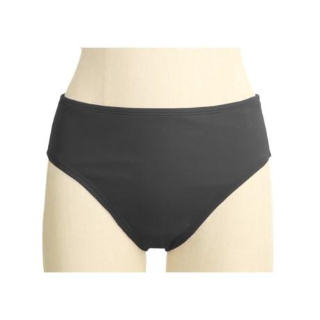 Speedo Solid Tankini Swimsuit Bottoms - High Waist (For Women)