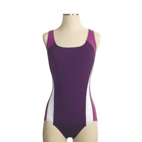 Speedo Sonic Splice Swimsuit - Ultraback, 1-Piece (For Women)