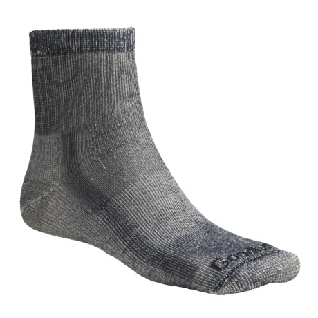 Goodhew 1/4 Crew Hiking Socks - Merino Wool, Midweight, Medium Cushion (For Men and Women)