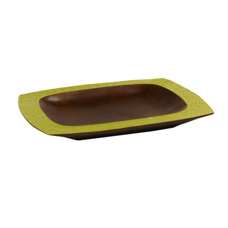 Enrico Products Serving Platter - Two-Tone Mango Wood