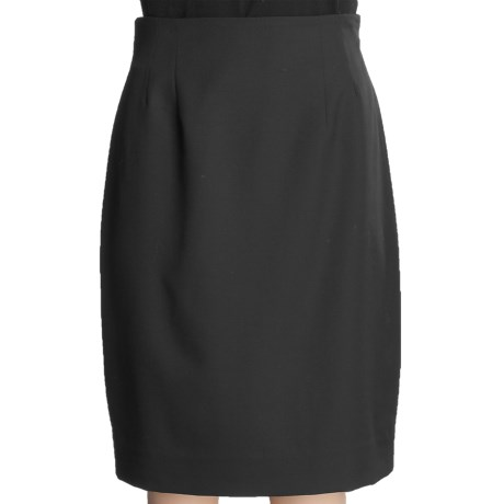 Gabriella Molinari Short Skirt - Worsted Wool (For Petite Women)