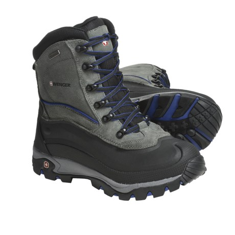 Wenger Buckhorn Boots - Waterproof, Insulated (For Men)
