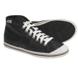 Simple Take On Hi High-Top Sneakers - Organic Cotton-Recycled Materials (For Women)