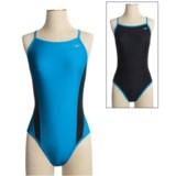 Speedo Reversible Extreme Back Swimsuit - 1-Piece (For Women)