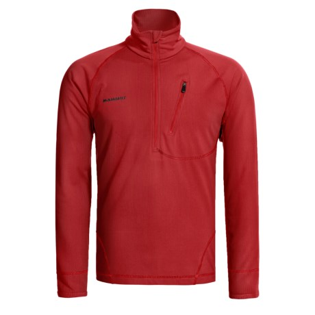 Mammut Kala Pattar Jacket - Zip Neck, Fleece (For Men)