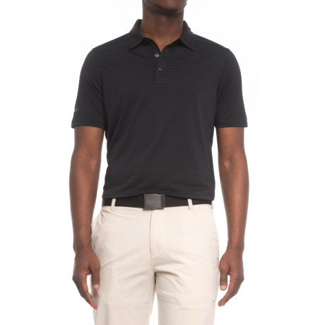 Skechers GOgolf Striped Polo Shirt - Short Sleeve (For Men)