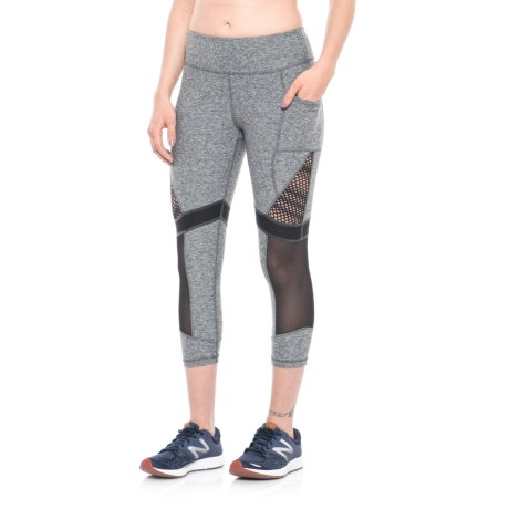 X by Gottex Mesh Block Capris (For Women)