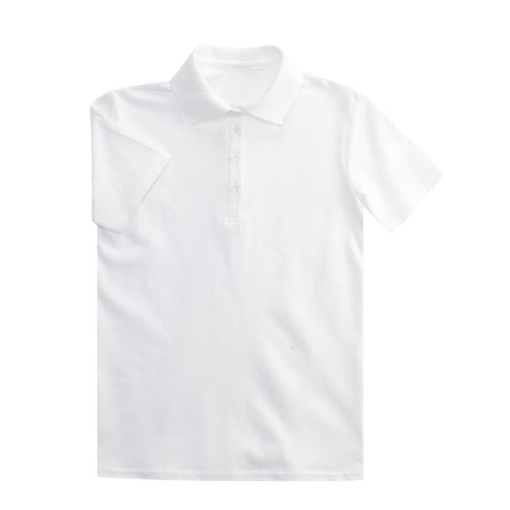 Hanes Stedman Polo Shirt - Cotton Pique, Short Sleeve (For Youth)
