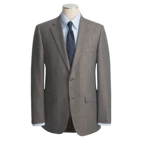 John Varvatos Star USA Linen-Wool Sport Coat - Partially Lined (For Men)
