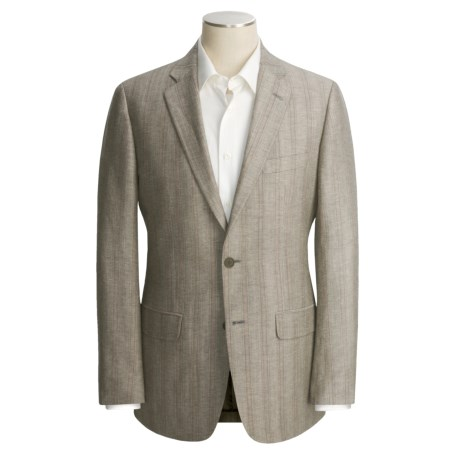 John Varvatos Star USA Stripe Sport Coat - Linen-Wool (For Men)