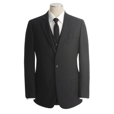 John Varvatos Star USA Wool-Cashmere Suit - 3-Piece (For Men)