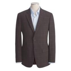 John Varvatos Star USA Waffled Windowpane Sport Coat - Leather Trim (For Men)