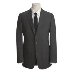 John Varvatos Star USA Tic Weave Suit - Beaded Stripe (For Men)