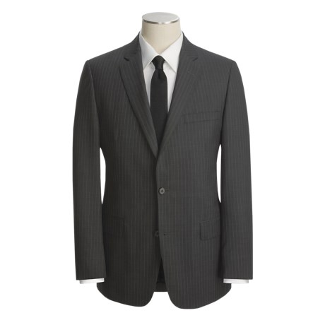 John Varvatos Star USA Tic Weave Suit - Beaded Stripe (For Men)