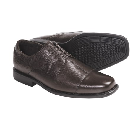Johnston & Murphy Macomb Calfskin Shoes - Cap Toe, Lace-Ups (For Men)