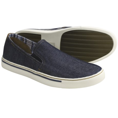 Johnston & Murphy Jameson Gore Shoes - Denim, Slip-Ons (For Men)