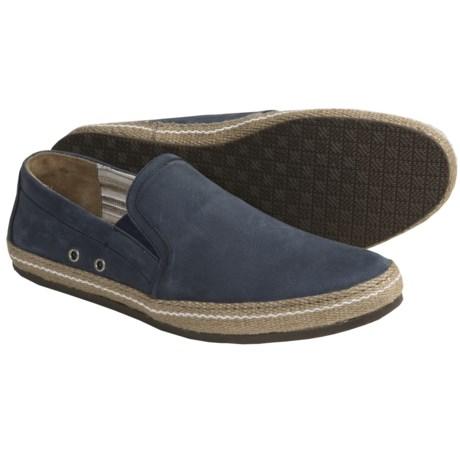 Johnston & Murphy Caperton Shoes - Nubuck, Slip-Ons (For Men)
