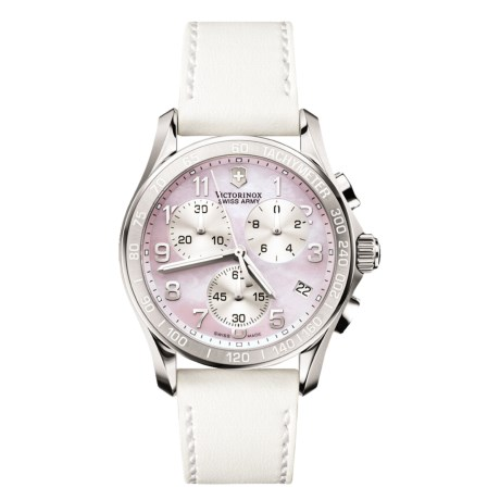Victorinox Swiss Army Classic Chronograph Watch (For Women)