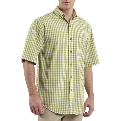 Carhartt Plaid Shirt - Cotton, Short Sleeve (For Men)