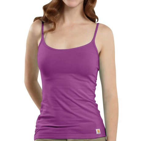 Carhartt Stretch Cami Tank Top - Cotton (For Women)