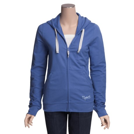 Carhartt Hooded Track Jacket - Stretch Cotton (For Women)